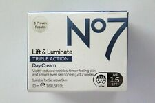 No7 Lift & Luminate Triple Action DAY Cream SPF15 - 50ml