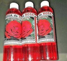 THREE PACK (3) - ROSE WATER By Selene Agua De Rosa Fresh Scent Bath Shower Wash