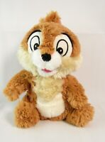 Disney Store Chip N Dale Chipmunks Chip Soft Plush Toy Stamped - 25cm in Height