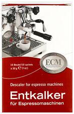 ECM Entkalker für Espressomachinen Siebträgermaschinen 10 x 30g