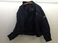 HEIN GERICKE Riding Racer Black Biker Motorcycle Armored Jacket Size XL