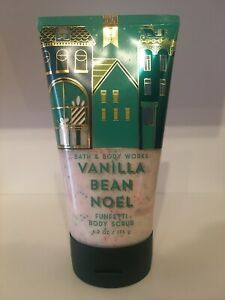 Bath & Body Works - Vanilla Bean Noel - Funfetti body scrub NEW