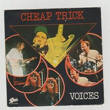 """Cheap Trick- Voices Italian 7"""" single in picture sleeve"""
