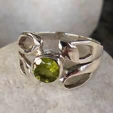 Schöner  Ring mit  Peridot- Gr.56 - 17,8 mm