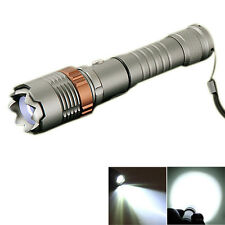 Outdoor Camping Tactical 2000LM CREE XML T6 LED Light Flashlight Torch Lantern