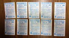 Scudetto sticker VARESE trasferibile Panini 1975/76 n. 569 con velina NUOVO