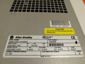 Allen Bradley 2098-DSD-HV050X Frequenzumrichter Servoregler
