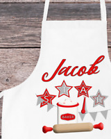 Personalised Star Baker Cooking Apron Adult, Child or Toddler for Chef or Cook