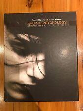 Abnormal Psychology, 5th Edition
