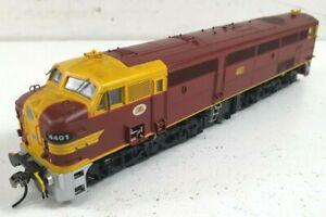 TrainOrama 44 class Locomotive HO Scale Original Indian Red 4401 Die Cast