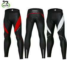 Cycling Long Pants Tights Trousers Legging Bicycle Gel Padded Pants Reflective