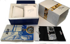 TISSOT SCATOLA ORIGINALE PORTA OROLOGI NUOVA 150 ANNI BOX WATCH BLU YEARS NEW