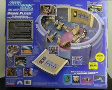 Star Trek Enterprise Bridge Playset Next Genereration NM Box & Mint Contents