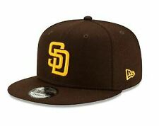 San Diego Padres New Era Snapback 9fifty Brown Cap Authentic Collection