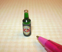 Miniature Beer Bottle #3 for DOLLHOUSE 1/12 Scale Miniatures