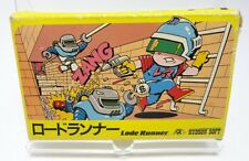 NES Lode Runner BOXED Nintendo Famicom VIDEO GAME Japan Import
