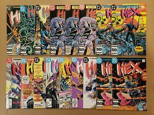 Hex #1-16 Lot of 17 DC 1985 series Jonah Hex NM- avg