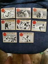1968 TOPPS #151-158 LOT OF ALL (8) W. SERIES CARDS EX-NM GROBEE1957 SET BREAK