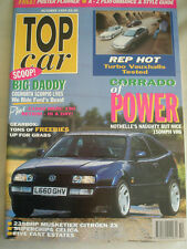 Top Car Oct 1993 Corrado VR6, Scorpio Cosworth