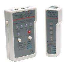 Intellinet Tester Multifunzione per Cavi di Rete RJ45 / RJ11