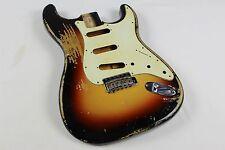 MJT Official Custom Vintage Aged Nitro Guitar Body By Mark Jenny VTS Sunburst