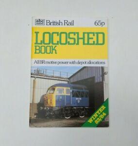 abc Ian Allen British Rail Locoshed Book Winter 1983-84
