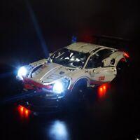 LED Light Up Kit For LEGO 42096 Technic Series Porsche 911 RSR Super Racing Car