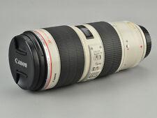 Canon EF 70-200mm f2.8 L IS II USM Zoom Lens