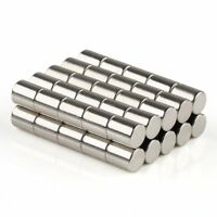 50 x Strong Small Round Disc Magnets 5mm x 6mm N35 Rare Earth Neodymium Magnet