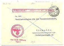 NEDERLAND 1944-8-01  DDP UTRECHT LOKAAL   @5