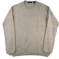 SCOTCH & SODA Mens Knit Jumper Medium Beige Knit Sweatshirt Pullover