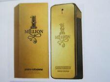 Paco Rabanne 1 Million 3.4oz Men's Eau de Toilette Perfume Original Sealed