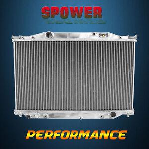 Aluminum Radiator For Toyota Soarer LEXUS SC400 V8 4.0L 1UZ-FE AT MT 90-00 3ROW