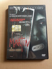 """DVD """"MARTIN"""" GEORGE A.ROMERO SPECIAL EDITION 1977 - A8"""