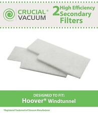 2 Hoover WindTunnel Secondary Vacuum Filters 38765-019 38765019 38765023