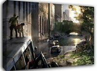 """The Last of Us Gaming ~ Canvas Wall Art Picture Print Framed 20""""x30"""""""