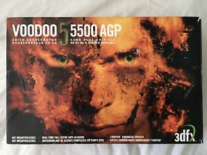 3Dfx Voodoo5 5500 AGP V5 SLI Model V555464-C with Retail Box