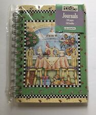 New ListingMary Engelbreit Journal Book Afternoon Tea Theme Ring Binder New Sealed 160 Page