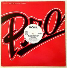 1985 - SPYDER-D - RAP IS HERE TO STAY / BUCKWHEAT'S BEAT - PROFILE PROMO OG