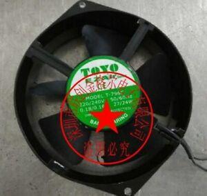 Original toyo fan T-796C 220/240V 27/24W 0.all metal fan 0.18a/0.16a good work