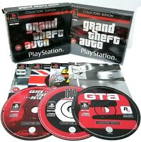 Grand Theft Auto GTA Collectors Edition ~ Sony PlayStation PS1 *Excellent*