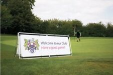 Monsoon Banner Frame - Outdoor - 2500 x 1000mm - Only £99. - To hold PVC Banner