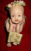 """Cherub Figurine-1995--Ceramic-""""Love Is Patient"""""""