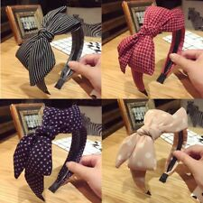 Women's Fabric Big Bow Knotted Hairband Headband Hair Band Hoop Accessories