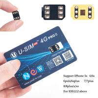USIM PRO II Unlock SIM Card For iPhone XS MAX/XR/XS/8/7/6Plus 4G iOS 12.3 HA