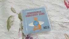 Emb Card #3 DINOSAURUS Bernette Deco Brother Babylock Simplicity UNUSED