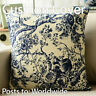 "Chinese old Blue and white Tree ANTIQUE Throw Pillow Case Cushion Cover 18""x45cm"