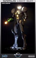 First4Figures F4F Samus Light Suit Statue Exclusive MIB Metroid Prime Nintendo