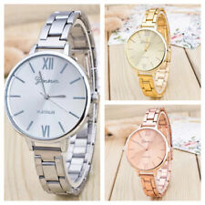 Ladies Womens Wrist Watches Bracelet Watch Stainless Steel Analogue Gold Silver