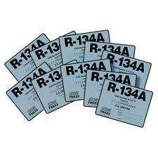 R-134A / R134A Tetrafluoroethane Refrigerant Label # 79523 , Pack of (10)